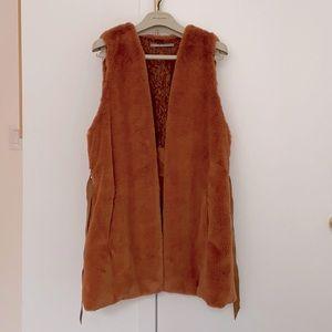 Gaudi faux fur vest